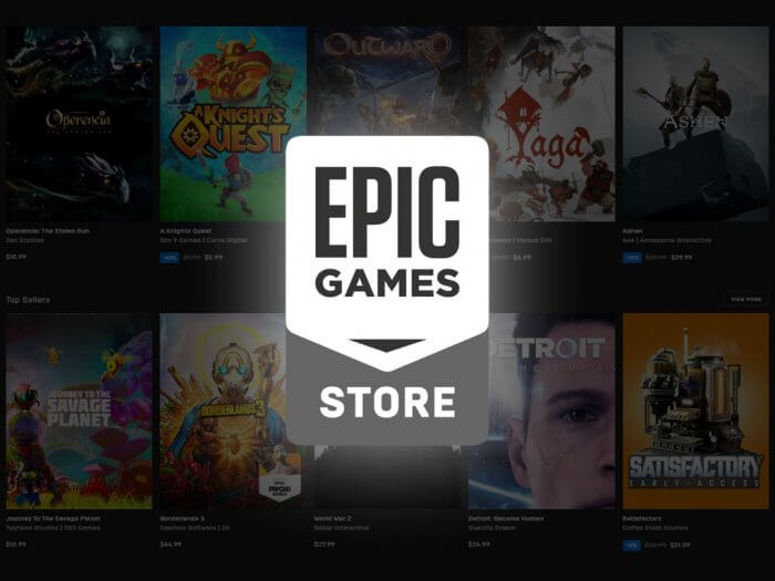 Cover Epic Games Store